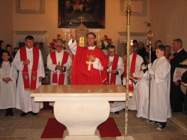 Posveta oltara u Gradini